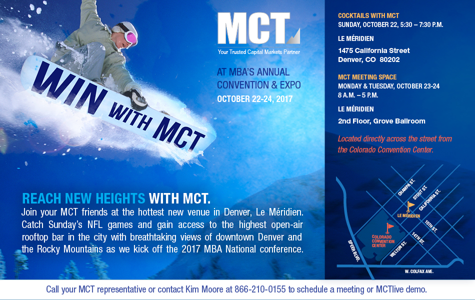 Reach New Heights with MCT in Denver!