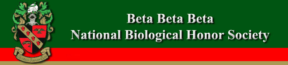 2020 Beta Beta Beta Biology Honor Society National Convention