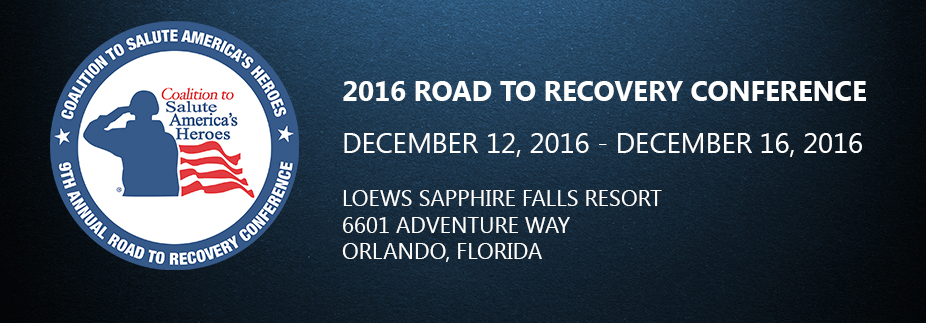 2016 Road to Recovery Conference - Accepted Invitees