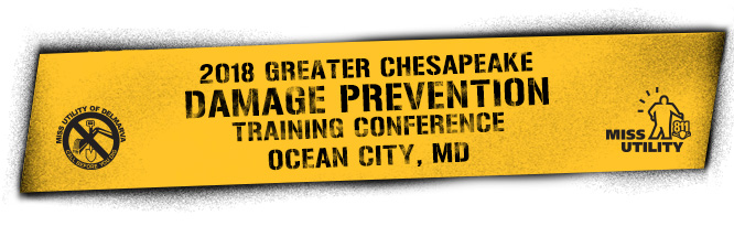 2018 Greater Chesapeake Damage Prevention Training Conference