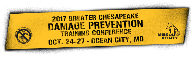 2017 Greater Chesapeake Damage Prevention Training Conference