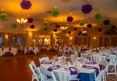 Newly remodeled and expanded banquet room