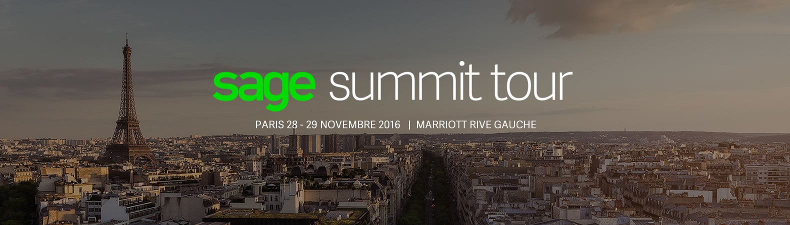 sage summit tour in Paris - register now