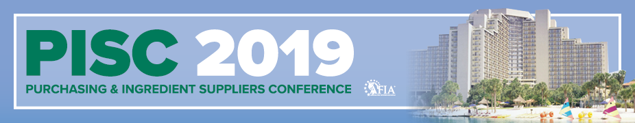 AFIA '19 Purchasing and Ingredient Suppliers Conference