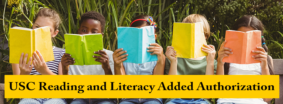Reading and Literacy Added Authorization: 2018