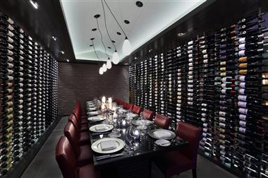 Wine Room at the Atlantic Grille