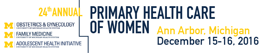 24th Annual Primary Health Care of Women