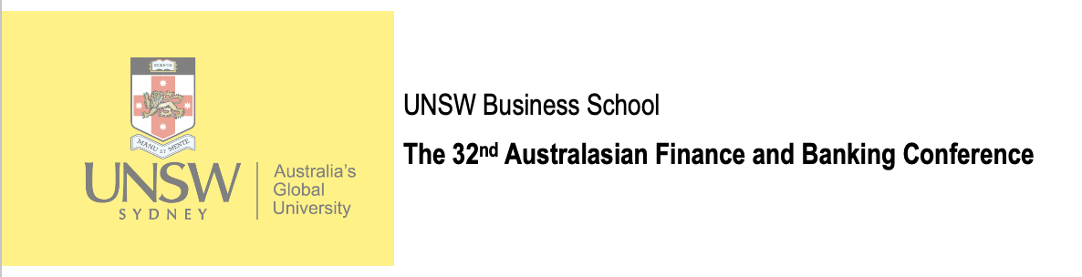 32nd Australasian Finance and Banking Conference