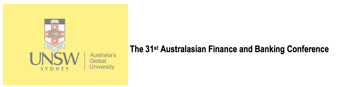 31st Australasian Finance and Banking Conference