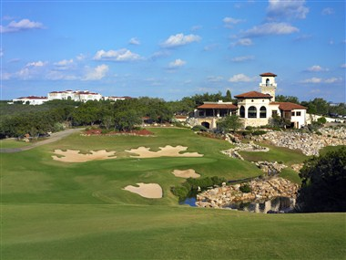 Palmer Course Clubhouse with Resort in view