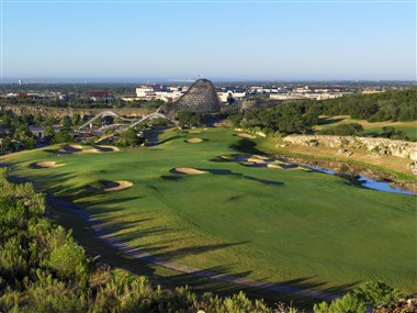 Resort Course overlooking Theme Park