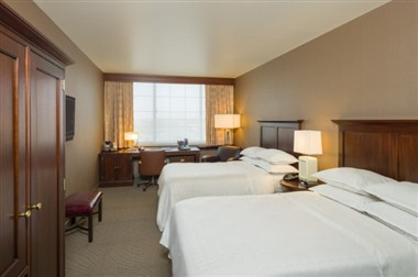 Sheraton Doublebed Sleeping Room