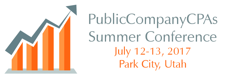 Public Company CPAs Summer Conference 2017