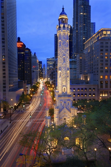 Water Tower on Michigan Avenue