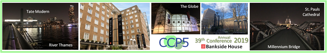 39th International Conference and CCP5 Annual General Meeting 2019