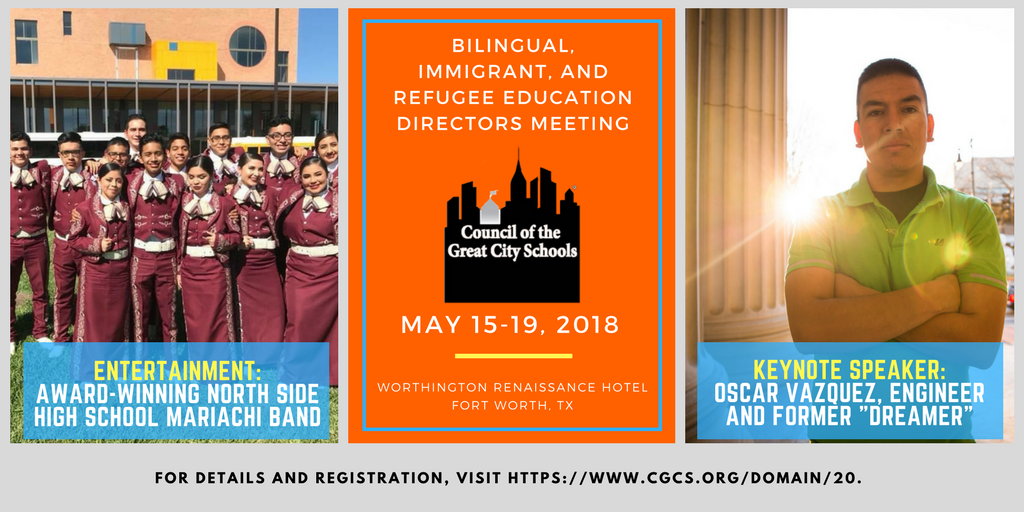 2018 Bilingual, Immigrant & Refugee Education Directors' Annual Meeting