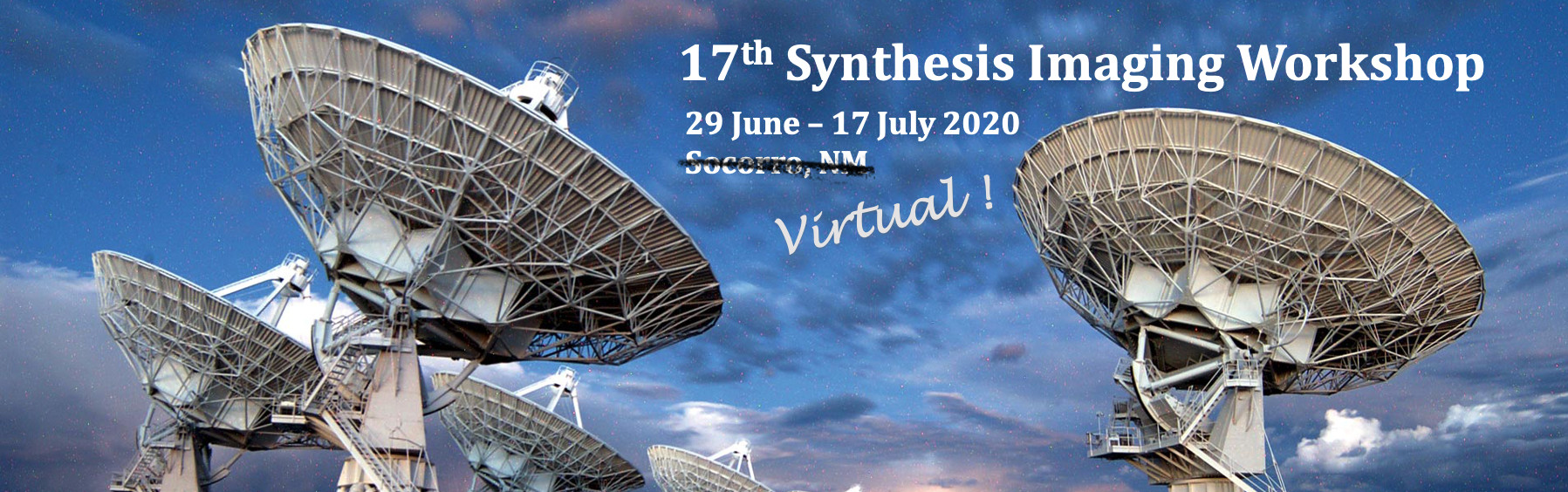 Virtual 17th Synthesis Imaging Workshop