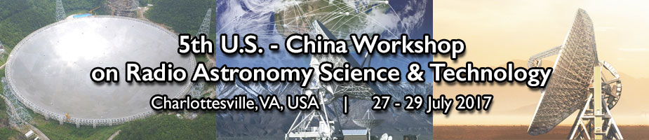 5th US/China Workshop on Radio Astronomy Science and Technology