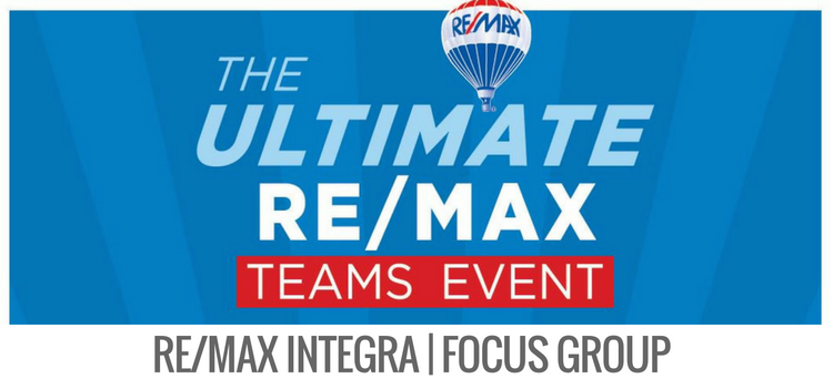 RE/MAX INTEGRA Focus Group @ The Ultimate RE/MAX Teams Event
