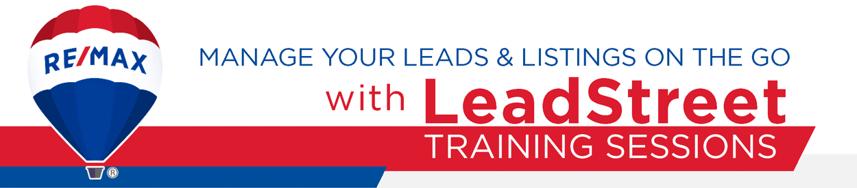 LeadStreet and Homes.com Training Tour for Broker/Owners, Managers & Admin