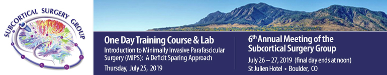 Introduction to Minimally Invasive Parafascicular Surgery (MIPS)  & 6th Annual SSG Annual Meeting