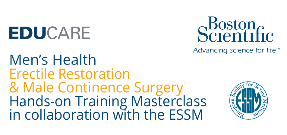 1st European Erectile Restoration and Male Continence Masterclass