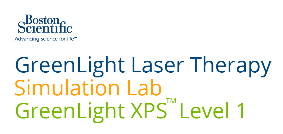 GreenLight XPS Surgery Program