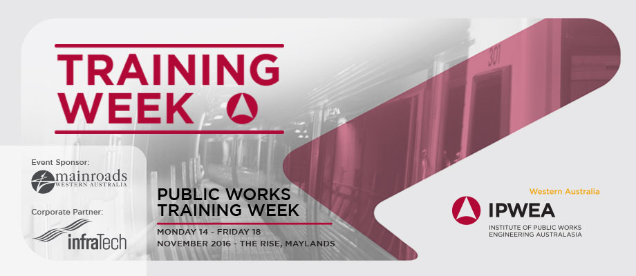 2016 Public Works Training Week