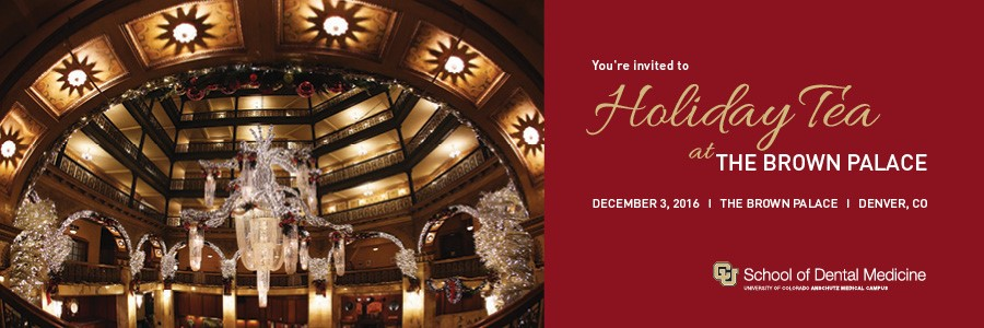 2016 Holiday Tea at The Brown Palace