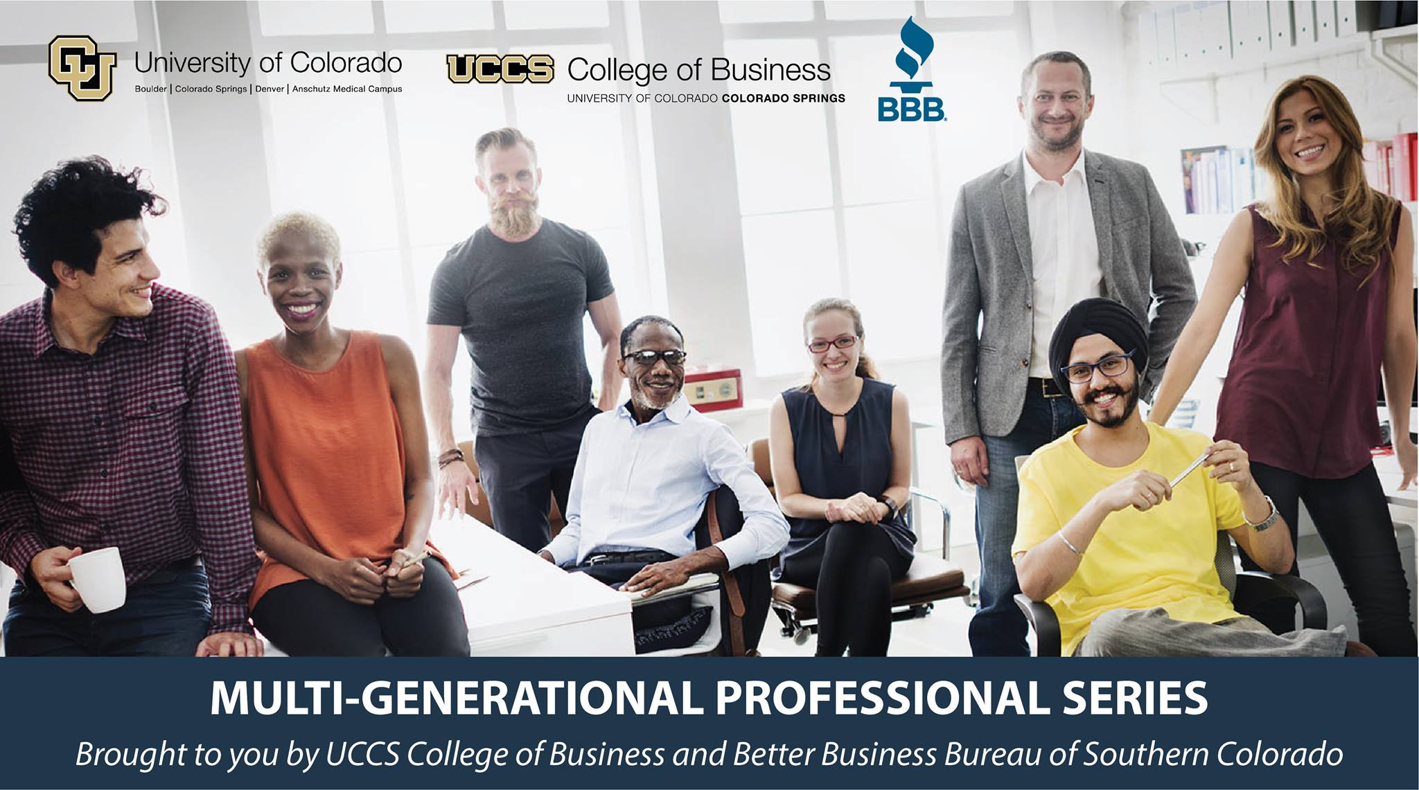 Multi-Generational Professional Series Info Session & Kick-Off Event