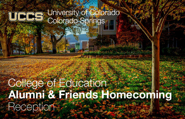 College of Education Alumni & Friends Homecoming Reception