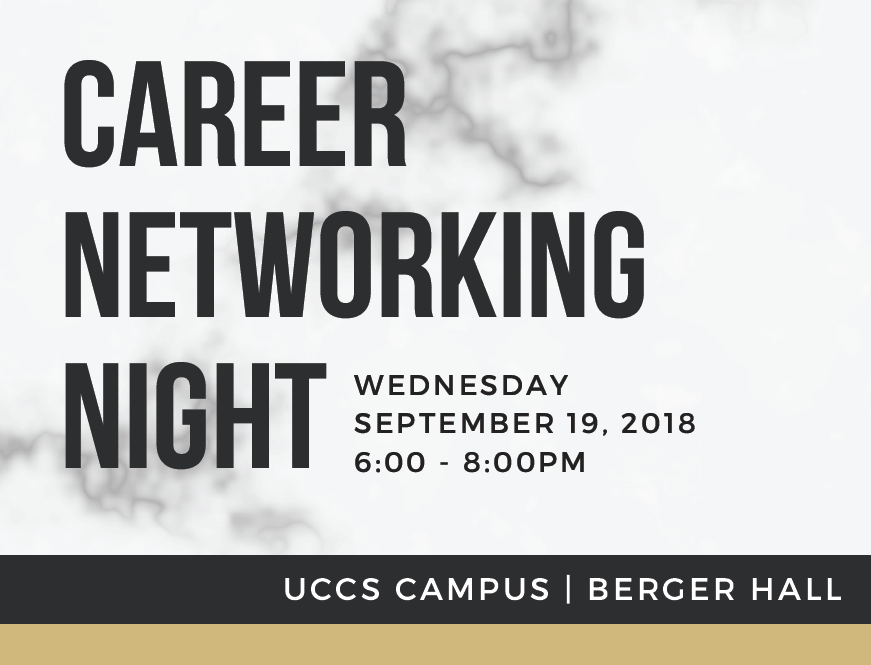 College of Business Fall 2018 Career Networking Night