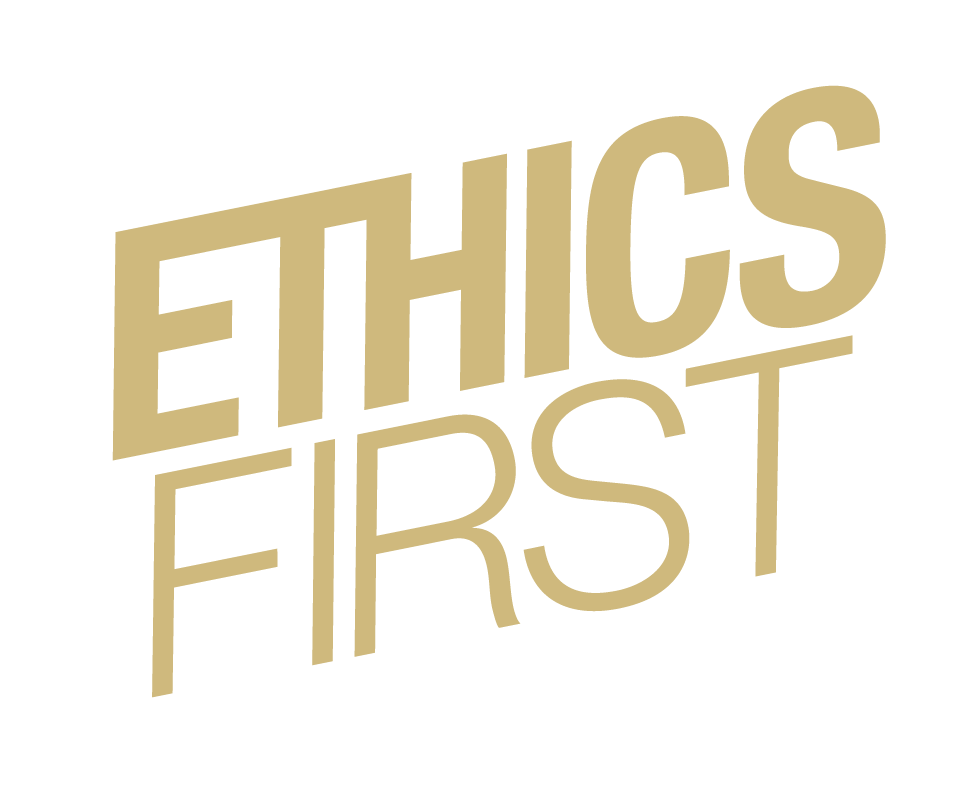 Ethics First - onecolor gold
