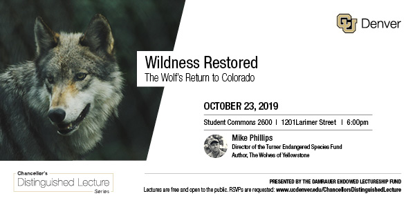 Chancellor's Distinguished Lecture: Mike Phillips
