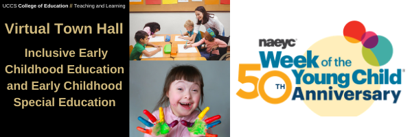 Inclusive Early Childhood Education and Early Childhood Special Education Virtual Town Hall