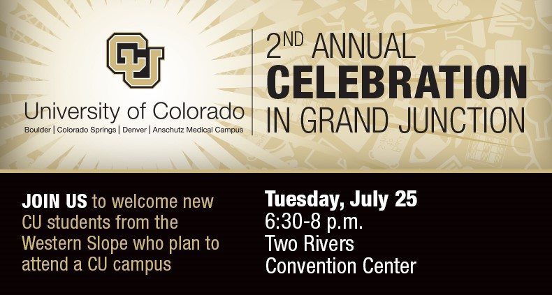 CU Celebration to Welcome New Students from the Western Slope of Colorado