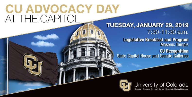 2019 CU Advocacy Day at the Capitol