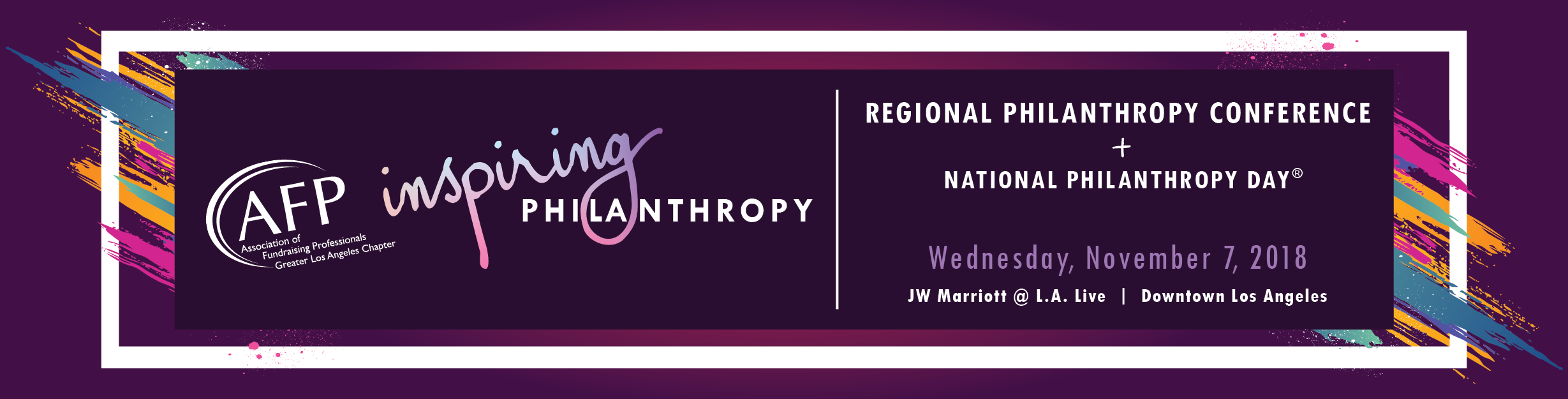 2018 National Philanthropy Day Lunch