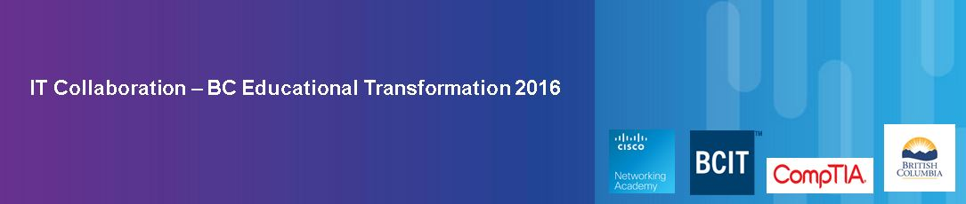 IT Collaboration – BC Educational Transformation 2016