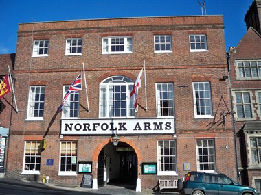 Norfolk Arms - Front View