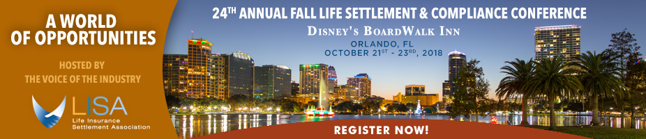 24th Annual Fall Life Settlement and Compliance Conference