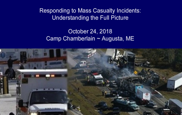 ME#822 - Responding to Mass Casualty Incidents: Understanding the Full Picture
