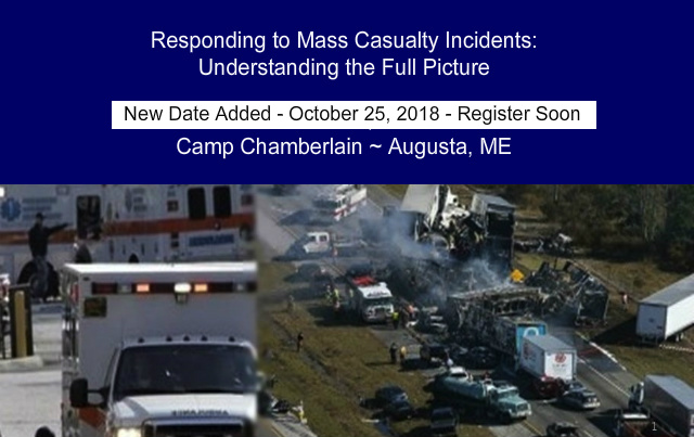 ME#823 - Responding to Mass Casualty Incidents: Understanding the Full Picture