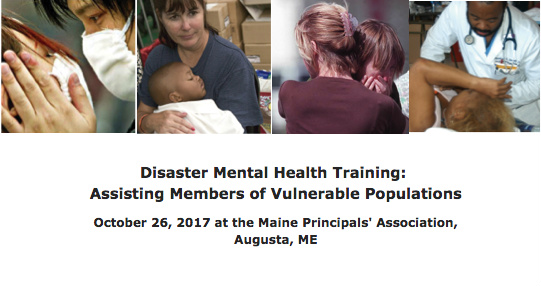 ME#809 - Disaster Mental Health Training - Assisting Members of Vulnerable Populations