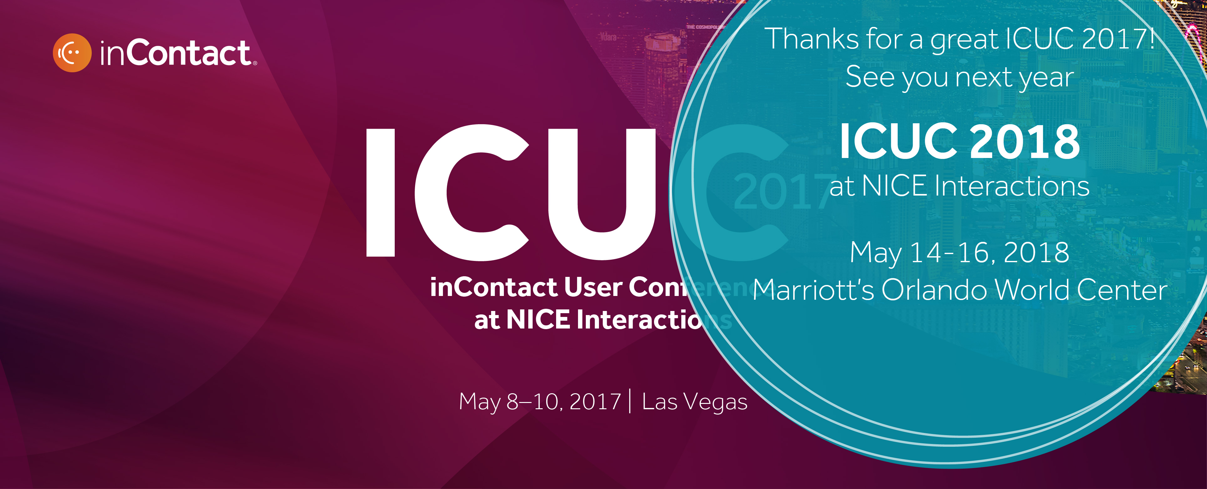 ICUC 2017 at NICE Interactions