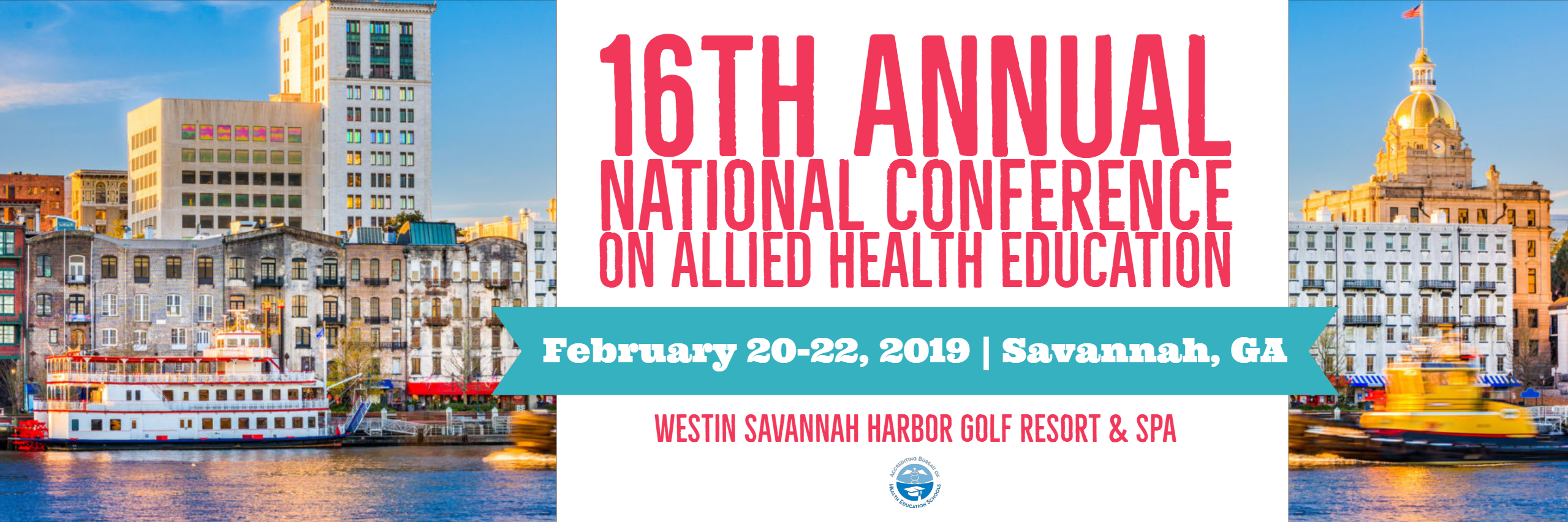 16th Annual National Conference on Allied Health Education and Pre-Conference Workshops