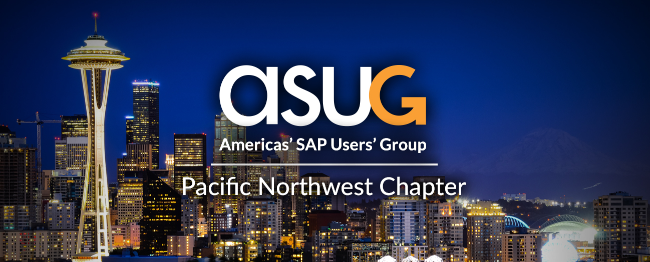 ASUG Pacific Northwest Chapter Meeting