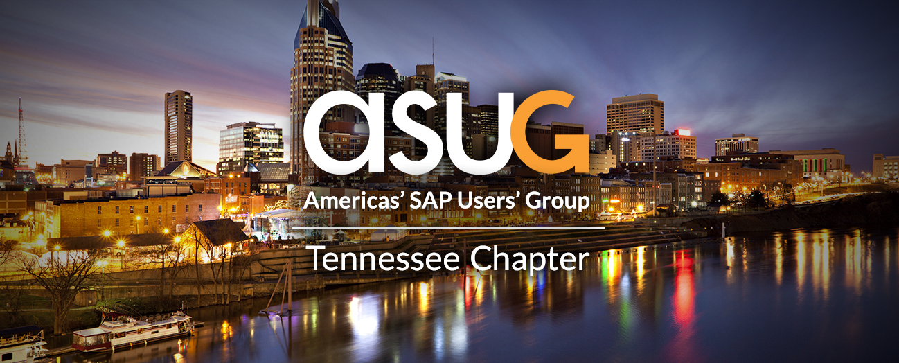 ASUG Tennessee Chapter Meeting