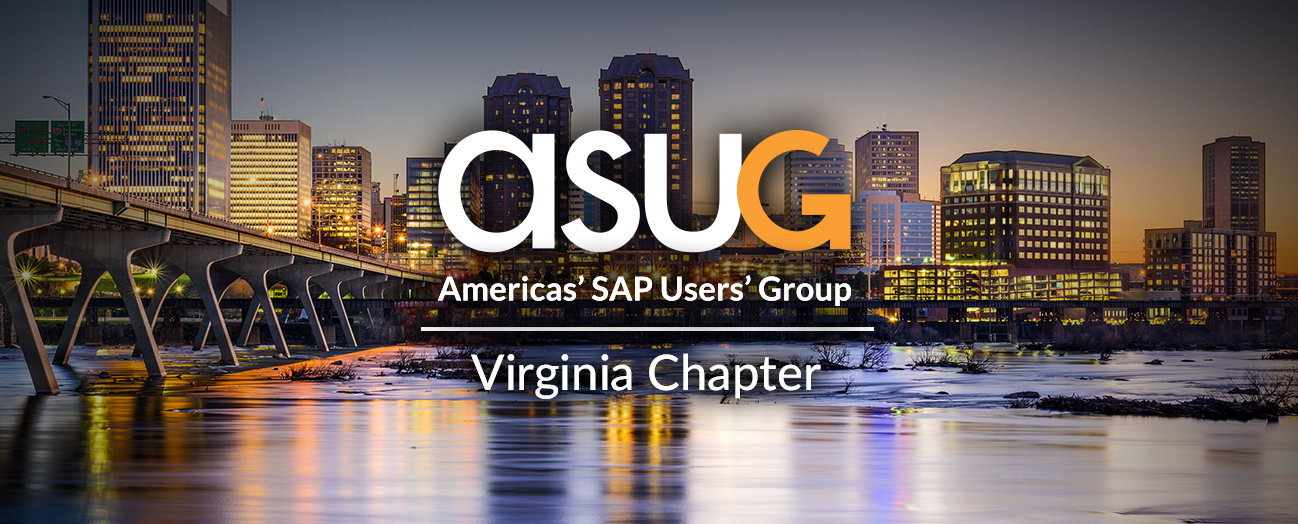 ASUG Virginia Chapter Meeting - March 2017
