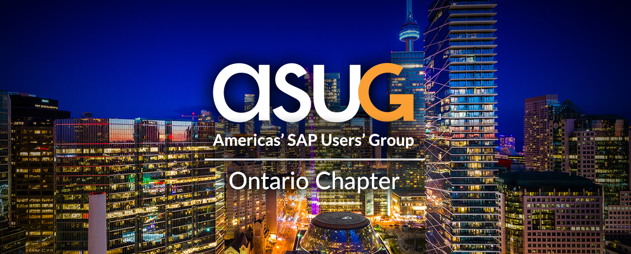 ASUG Ontario Chapter Meeting - February 2018